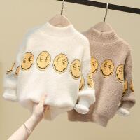 儿童毛衣男童中小童宝宝套头针织衫打底衫