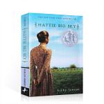 英文原版进口小说 Hattie Big Sky 海蒂的天空 纽伯瑞银奖 儿童文学读物 青少年课外读物