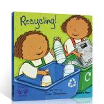 顺丰发货 英文原版进口绘本 Helping Hands Recycling 好帮手系列 环保 child's play