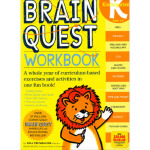 Brain Quest Workbook: Kindergarten 益智练习:K级 英文原版,Lisa Trumba