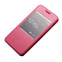 【订做】坚达 手机套保护套薄翻盖手机皮套 适用于华为荣耀4X CHE1-CL20羊皮套Che1-CL20/CHE-TL00H皮套