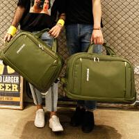 旅行包女手提拉杆包旅游大容量登机包折叠防水待产包行李包男新款