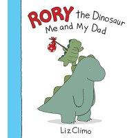 【现货】英文原版 Rory the Dinosaur: Me and My Dad 儿童书绘本 恐龙罗伊:我和我爸爸