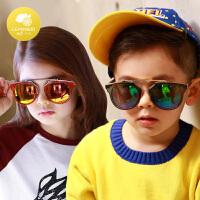 防紫外线遮阳可爱墨镜韩版学生宝宝儿童太阳镜公主女童男童眼镜