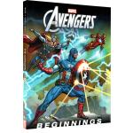 英文原版 The Avengers Beginnings 漫威复仇者联盟 精装 电影漫画图画故事绘本