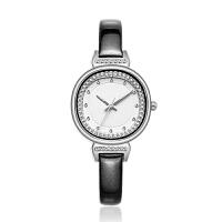 手表女韩版简约复古时尚镶钻防水时装女士学生石英表