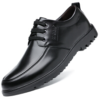波图蕾斯当季爆款时尚英伦男士舒适软面商务休闲鞋正装鞋系带皮鞋 9881