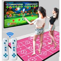 电视电脑无限下载两用加厚双人跳舞毯无线手柄加宽瑜伽垫跳舞毯减肥机