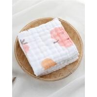 儿童宝宝棉毛巾手帕婴儿纱布口水巾小方巾洗脸巾喂奶巾