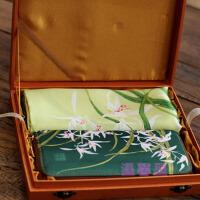 中国风特色 送老外外宾出国礼物 礼品 中国风 丝绸钱包丝巾套装 生日礼物