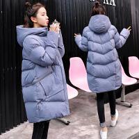 怀孕期棉袄冬季厚外套 孕妇棉衣冬装韩版宽松女中长款羽绒服