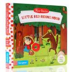 正版 英文原版绘本 First Stories BUSY系列 童话篇 Little Red Hood 小红帽 纸板机关