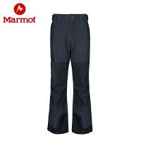 Marmot/土拨鼠男士户外防水透气冲锋滑雪裤