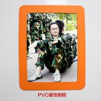 5寸8寸PVC单双层磁性企业家庭个性相框冰箱贴创意磁性相框照片墙