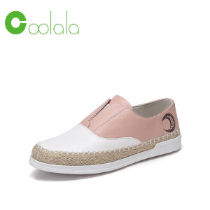 红蜻蜓旗下品牌 COOLALA秋冬休闲鞋板鞋女鞋子HTB7051