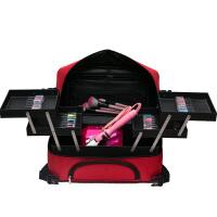 化妆箱 手提大号化妆师跟妆化妆包 多层大容量美容纹绣工具箱