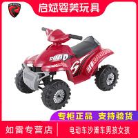 美国rollplay如雷儿童电动车沙滩车男孩女孩宝宝玩具车四轮摩托车