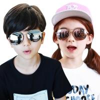 儿童时尚太阳镜舒适墨镜男童女童小孩防紫外线飞行宝宝眼镜潮