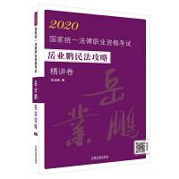 司法考试2020 2020国家统一法律职业资格考试岳业鹏民法攻略・精讲卷
