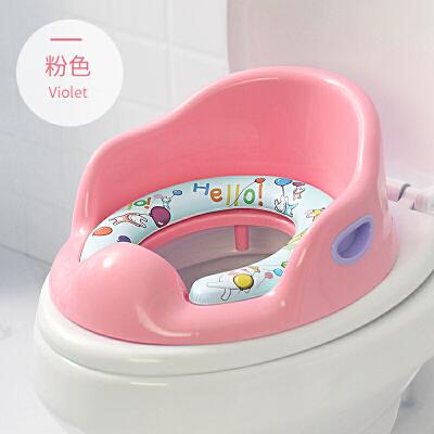 大号儿童坐便器马桶圈男女宝宝通用坐垫圈小孩便盆马桶垫梯盖 食品级PP材质