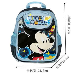 当当自营富乐梦 Disney迪士尼 幼儿园书包 米奇儿童背包 深蓝 CC-M0424D