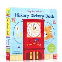 顺丰发货 英文原版 sing along with me Hickory Dickory Dock小老鼠上灯台 欧美经
