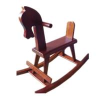 木马儿童摇摇马实木小孩玩具摇椅童车大号木制两用组合幼儿园 加放脚