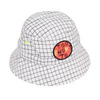 【秒杀价:77元】马拉丁童装男女大童帽子春装2020年新款白色格子渔夫帽儿童帽