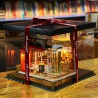 邂逅美好艺术屋生日礼物女diy小屋手工制作创意房子模型