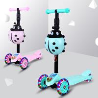 滑板车四轮宝宝滑滑车单脚划板车儿童带音乐1-3-6岁小孩溜溜车3