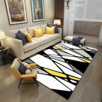地毯客厅 现代简约家用沙发茶几垫几何长方形美式定制可机洗