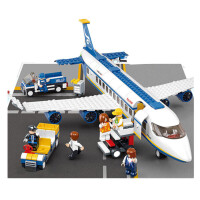 兼容乐高拼装积木男孩拼装玩具6-7-8岁系列飞机模型