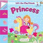 【预订】Lift-The-Flap Friends: Princess 9781681192406