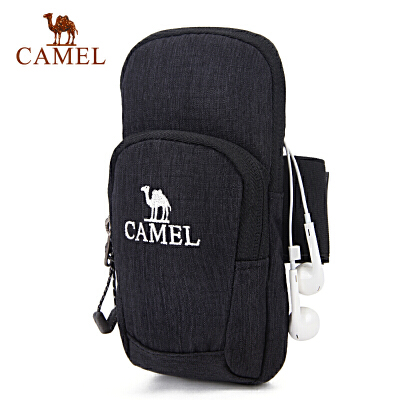 camel骆驼户外男女款运动手臂包 双袋容纳男女手臂包官方正品 七天无理由退换货