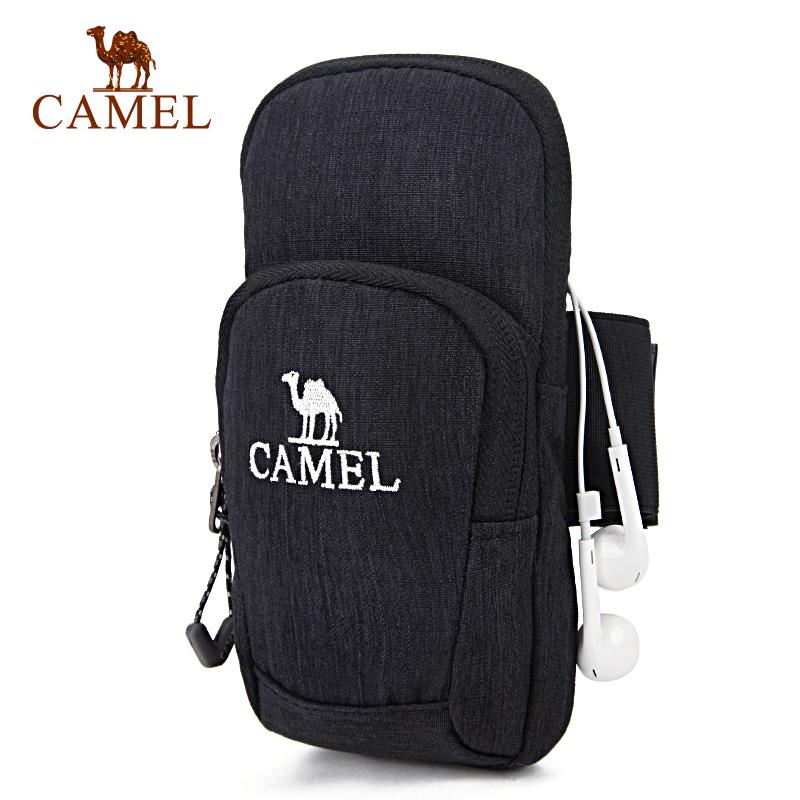 camel骆驼户外男女款运动手臂包 双袋容纳男女手臂包官方正品,七天无理由退换货,59元起包邮