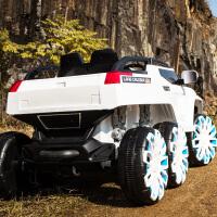 儿童电动汽车四轮可坐双人电动车驱动遥控摇摆越野车宝宝汽车双人玩具车可坐人