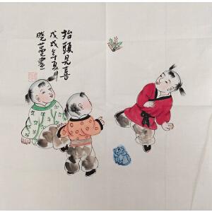 陈晓蔓 当代文人画派代表画家  人物作品