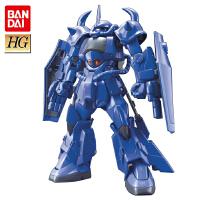 万代拼装模型 高达创战者 1/144 HGBF015 Gouf R35 青色巨星老虎