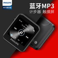 �w利浦�{牙MP3播放器SA6116小型�S身��W生版便�y式可��手表小巧