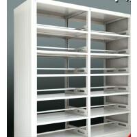 钢制书架学校图书馆书架双面阅览室书架 单面双面书架凭证档案资料架