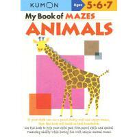 【预订】My Book of Mazes: Animals: Ages 5-6-7