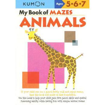 【预订】My Book of Mazes: Animals: Ages 5-6-7 预订商品,需要1-3个月发货,非质量问题不接受退换货。