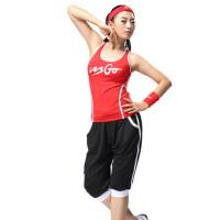 广场舞表演服服装健身操服 女套装健美操套装女士休闲运动服