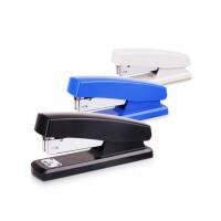 得力0425订书器 装订机 省力型订书机 彩色订书机 颜色随机