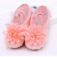 儿童演出舞蹈鞋女童表演舞芭蕾舞鞋幼儿园宝宝跳舞练功鞋