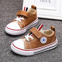 宝宝学步鞋潮春款男童帆布鞋软底防滑女童布鞋1-3岁透气小童鞋子
