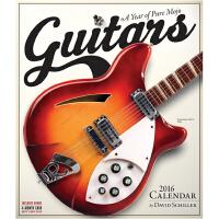 Guitars Wall Calendar