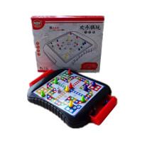 玩具儿童磁性飞行棋斗兽棋跳棋五子棋中国象棋带收纳