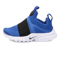【到手价:199.5元】耐克(Nike)儿童鞋男女童复刻运动鞋舒适休闲鞋870019-402 蓝色/ 黑