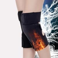 护膝保暖关节炎秋季自发热护膝中老年人风湿老寒腿防寒保暖护膝盖男女通用 护膝均码 一副两只护膝